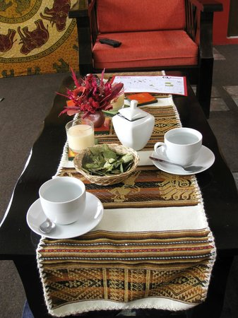 Hostal Wara Wara: Coca tea on arrival and anytime