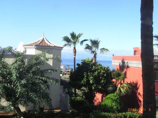 El Sombrero:                   Vue sur la Gomera