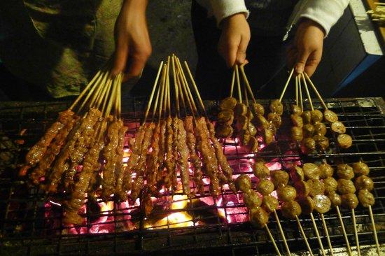 Wada Hostel: BBQ