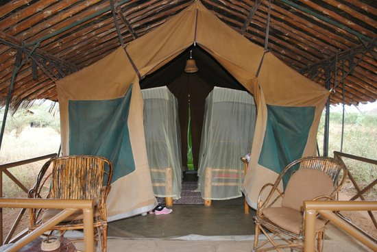 Kibo Safari Camp: La nostra tenda 2