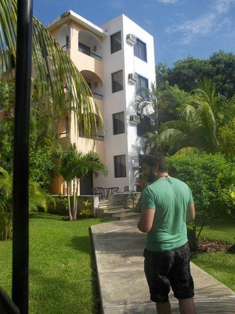 Real Playa del Carmen: View of Rooms