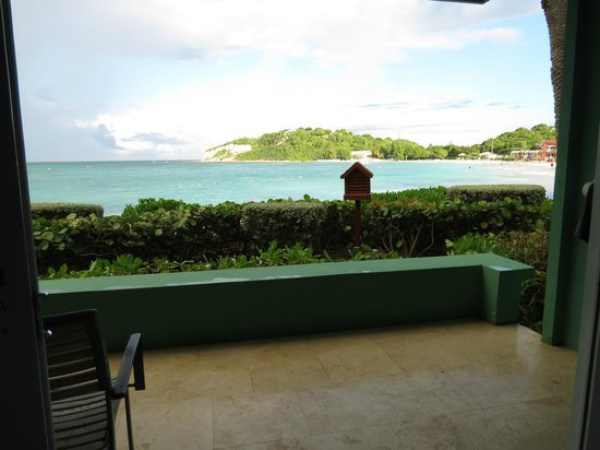 Grand Pineapple Beach Antigua: View from our room.
