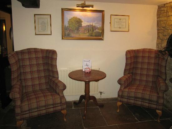 Mill House Hotel: reception area