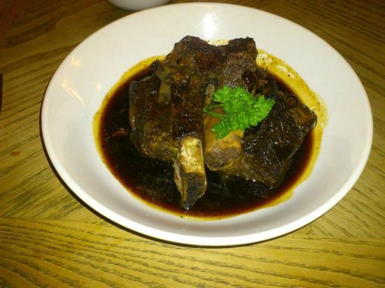 The Bear Inn: Rib of Beef in sugar sauce
