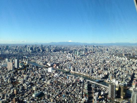 Tokyo Skytree : Mount Fuji
