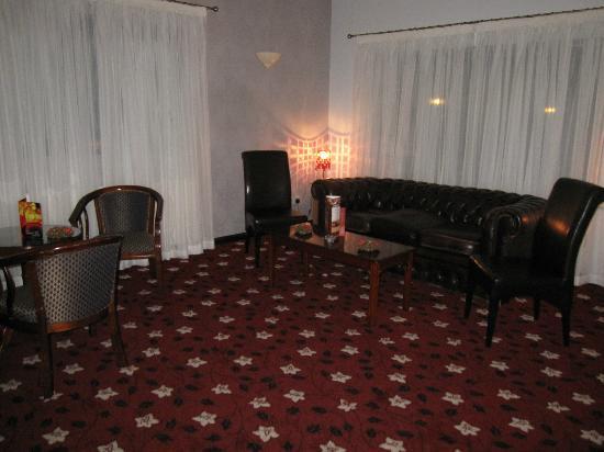 Wessex Hotel: Reception area