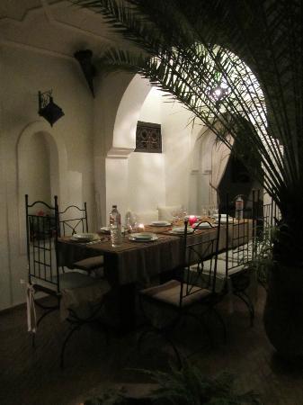 Riad Diarna: cena tipica
