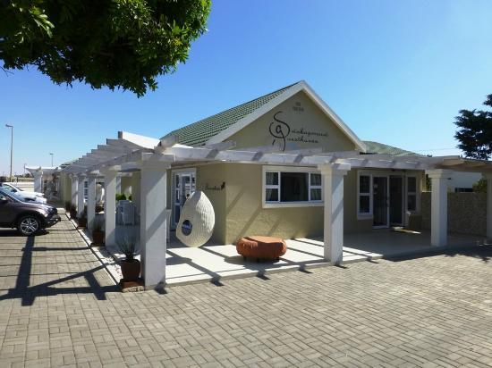 Swakopmund Guesthouse: Das Guesthouse von aussen