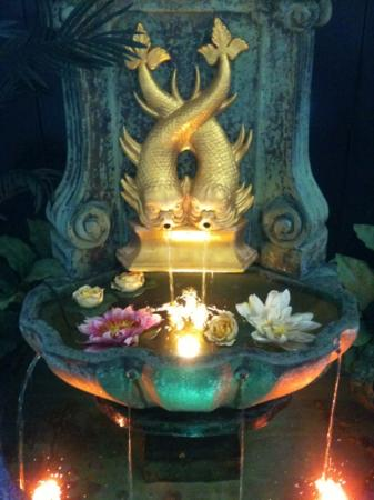 Bowral Thai: fountain