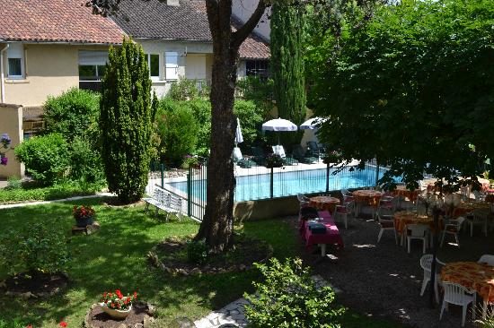 Hotel de France: vue terrasse