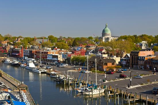 Annapolis Waterfront Hotel Autograph Collection View Of Downtown