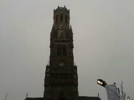 Hans Memling Hotel: The Belfry in main square.