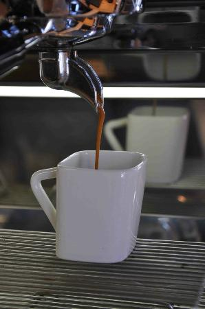 Creemore Coffee Studio: Our in house roasted espresso is medium dark in the northern Italian tradition.