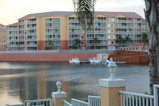 Westgate Vacation Villas Resort & Spa : swan boats