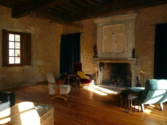 Ancienne Gendarmerie : Living room