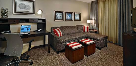 Staybridge Suites Bowling Green Living Room