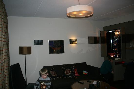 Levi Hotel Spa: Sitting area