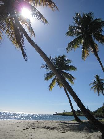 Laborie, St. Lucia: sun