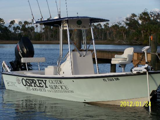 Osprey Guide Services - Tours: Osprey III Light tackle and Flyfishing Charters