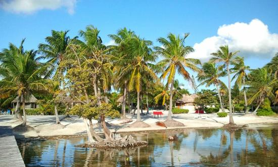 Costa de Cocos: View from the dock