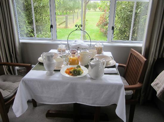 Hillsfield House Bed and Breakfast Marlborough: Breakfast