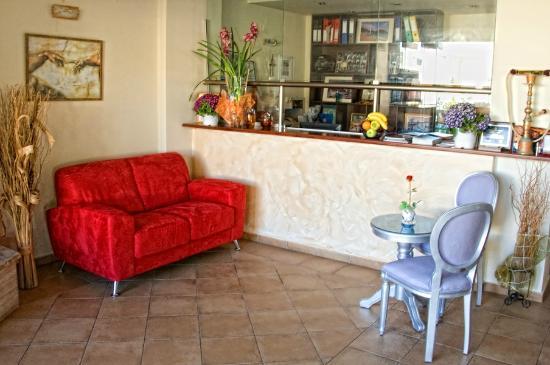 Hotel Esperanza: Reception