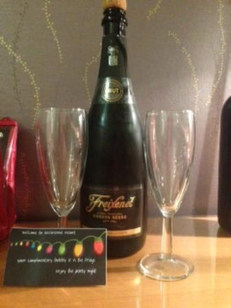 Auchrannie Resort: Free Bubbly