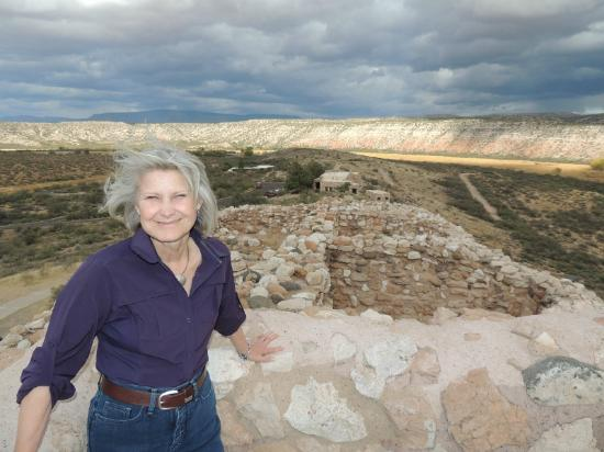 Tuzigoot National Monument: view from the top