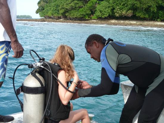 Bokissa Private Island Resort: Great dive staff
