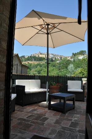 La Casina Toscana: Vista su Montepulciano