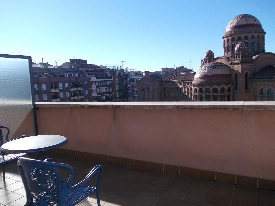 Amrey Sant Pau: large balcony