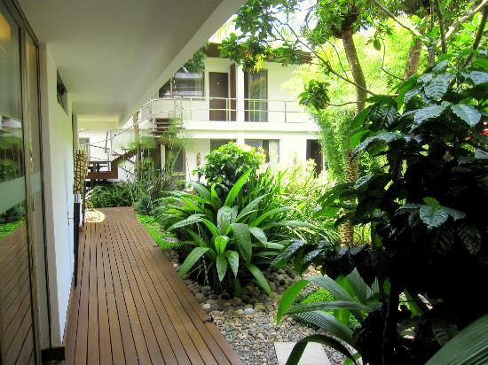 La Inmaculada Hotel : Courtyard