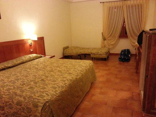 Montespina Park Hotel: camera da letto in bungalow