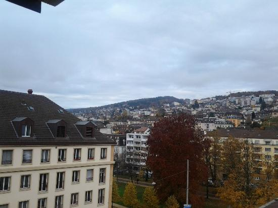Hotel des Arts: View from room on the 6th floor