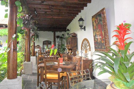 Hotel la Catedral: Breakfast area