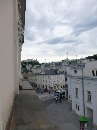 Bristol Hotel Salzburg: Festung Hohensalzburg view from room window