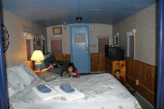 Iron Horse Inn Bed & Breakfast: Great northern sleeping area