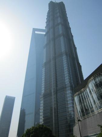 Park Hyatt Shanghai: attention, il y a plusieurs hotel Hyatt : le décapsuleur, c'est la tour de gauche