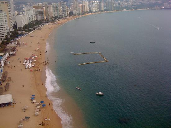 Hotel El Presidente Acapulco: vista desde la habitacion