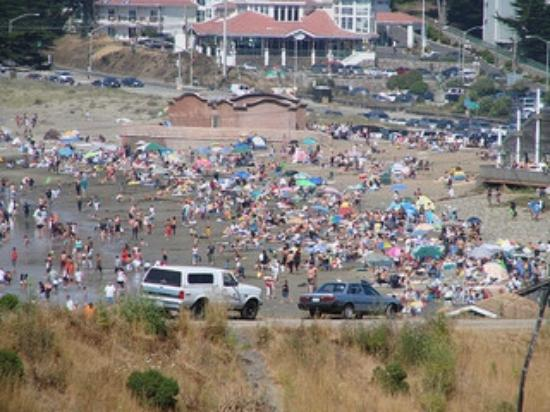 Pacifica Beach Hotel: Beach