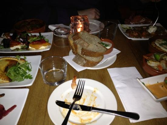 Delicatessen Grünerløkka: about 8 dishes for two people - more than enough