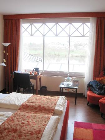 Hotel Weisser Baer: Zimmeraussicht auf die Mosel