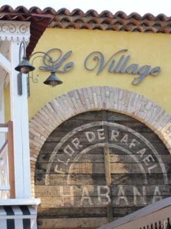 Le Village : welcome