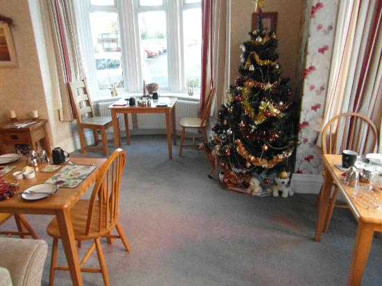 The breakfast room at The Rutland West Guest House