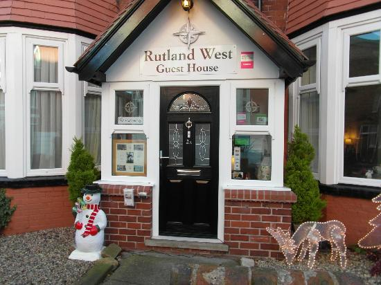 A warm welcome at The Rutland West Guest House