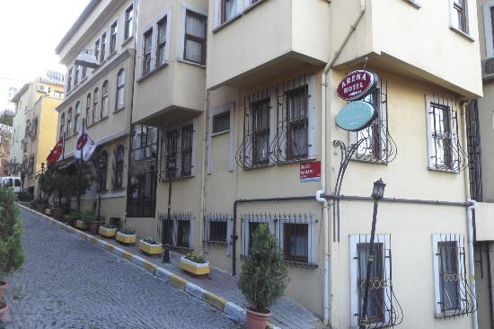 Exterior Del Arena Hotel