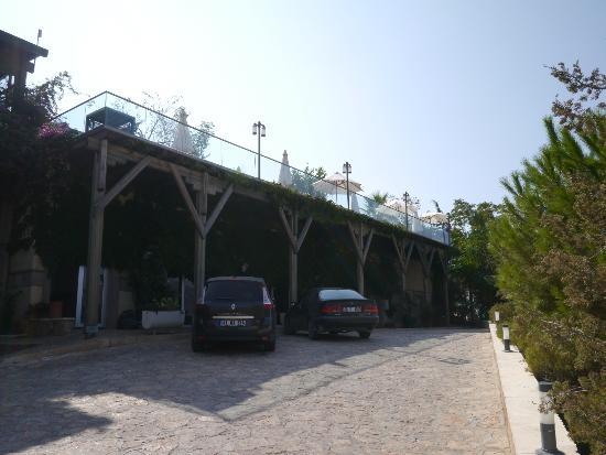 Happy Hotel Kalkan : Main entrance