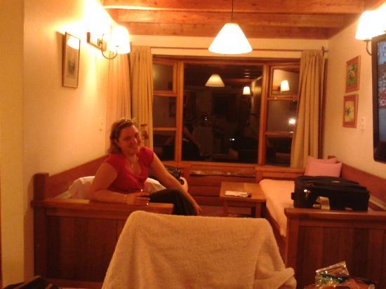 Apart Hotel del Arroyo: La cabaña