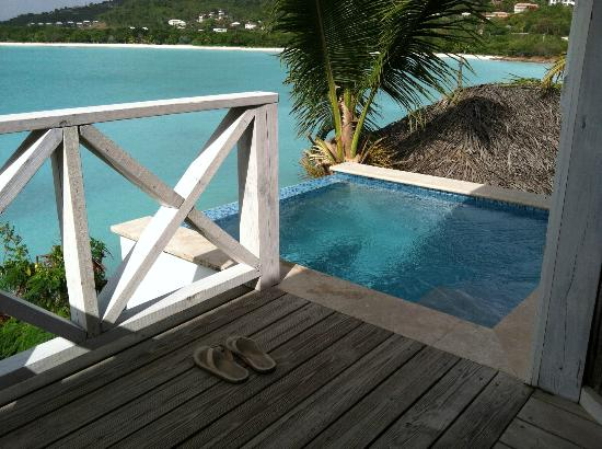 Cocobay Resort: our plunge pool