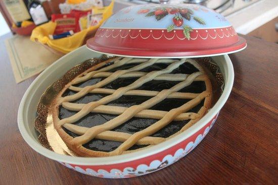 Agriturismo Podere Felceto: Torta deliciosa deixada pela Jussara